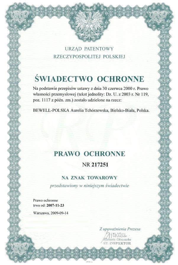 Bewell Polska producet Szwajcarskiego Balsamu Ziołowego - Maść Końska